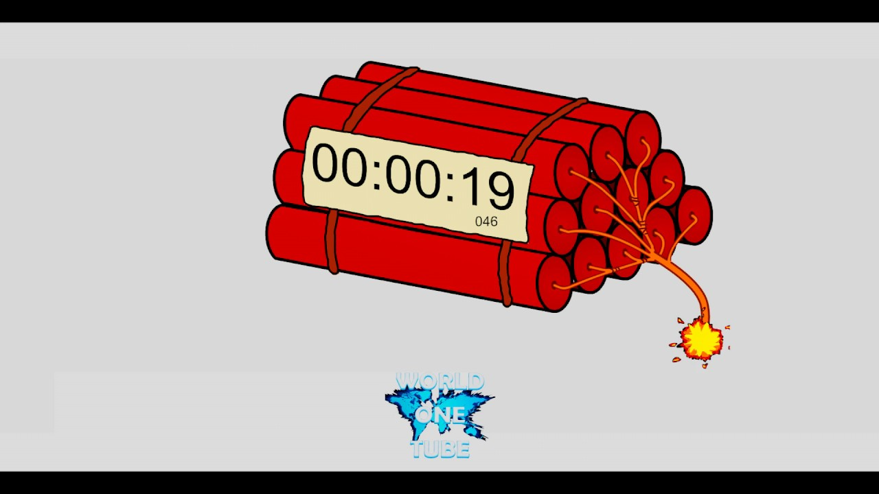 countdown dynamite timer 3 minutes youtube