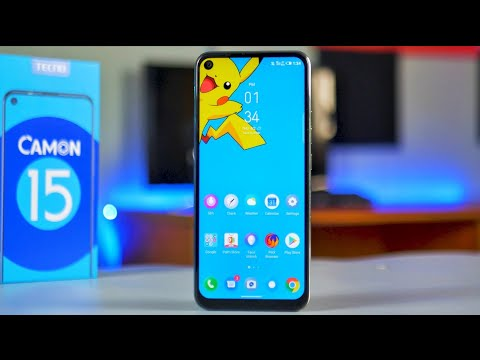 Tecno Camon 15 - Unboxing and Review in English