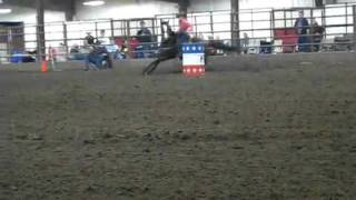 Ashley Snedegar, VF Coup De Ville in the Youth at NBHA IL State Show 10_3_09 [SaveYouTube.com].mp4