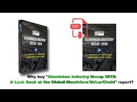 "Why buy ""Aluminium Industry Recap 2018: A Look Back at the Global Aluminium Value Chain"" report?"