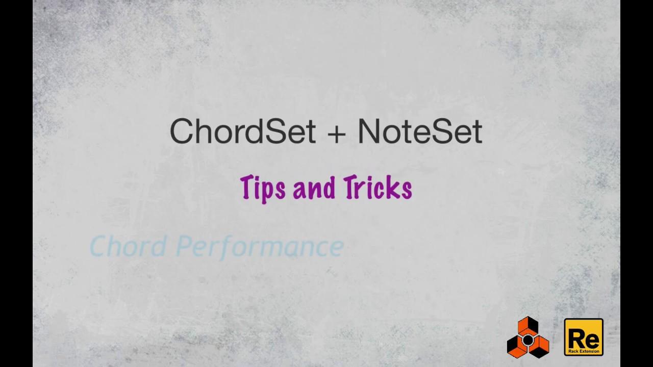 ChordSet | Harmony Module | Shop | Propellerhead