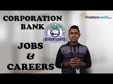 Corporation Bank Recruitment Notification 2017 -  IBPS,Bank jobs PO,Clerk, Exam dates & results