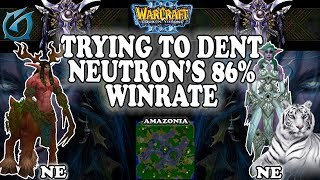 Grubby | Warcraft 3 TFT | 1.30 | NE v NE on Amazonia - Trying to Dent a 86% Winrate