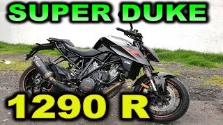 KTM SUPER DUKE 1290 R  REVIEW - BLITZ RIDER