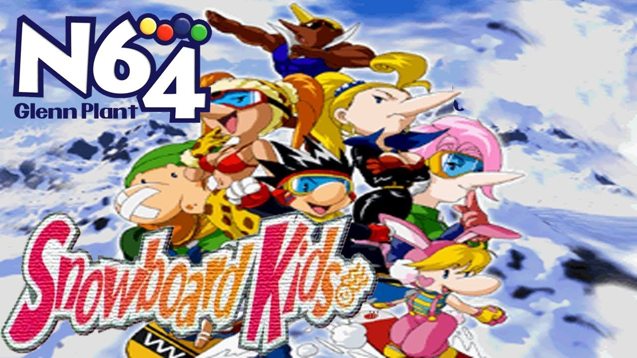 Snowboard Kids Nintendo 64 Review Hd Youtube