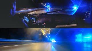 HIGHWAY 2: Mercedes-Benz C63 AMG outruns police