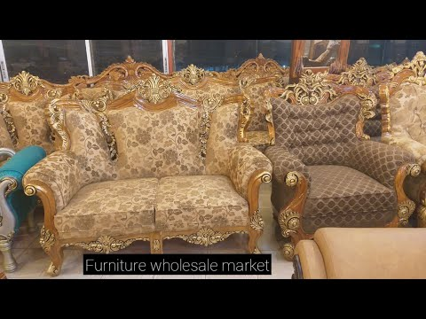 Wooden Furniture Sofa Wholesale Market Price Youtube