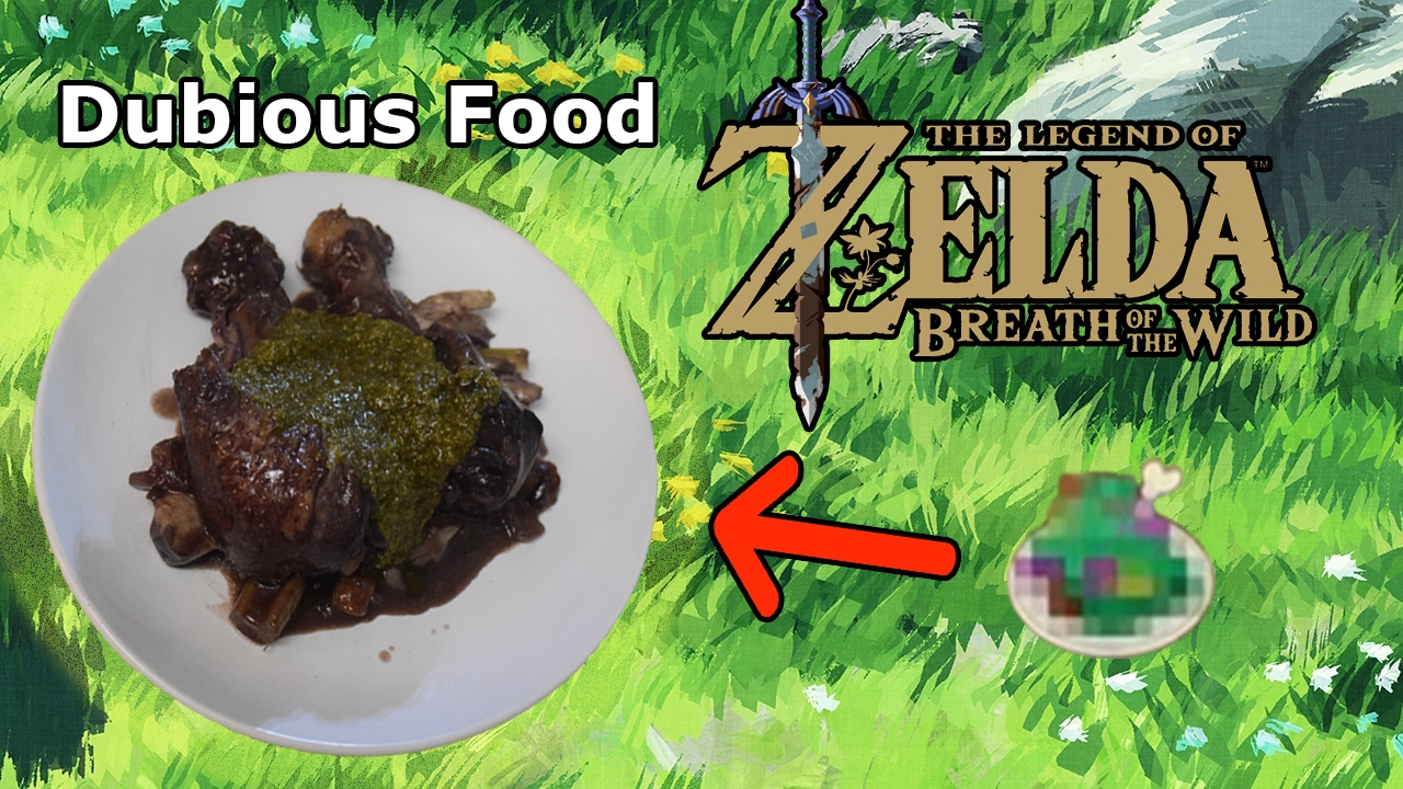 Cuccos kitchen how to make dubious food legend of zelda cuccos kitchen how to make dubious food legend of zelda breath of the wild youtube forumfinder Images