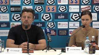 Pogoń Szczecin - Cracovia 1:1 (1:0) (KONFERENCJA)