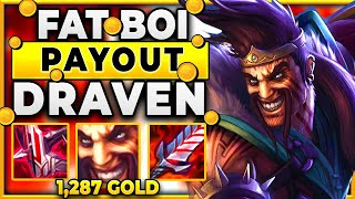 1,287 GOLD IN ONE KILL!!!! (BIGGEST SEASON 11 PAYOUT) - BunnyFuFuu | League of Legends