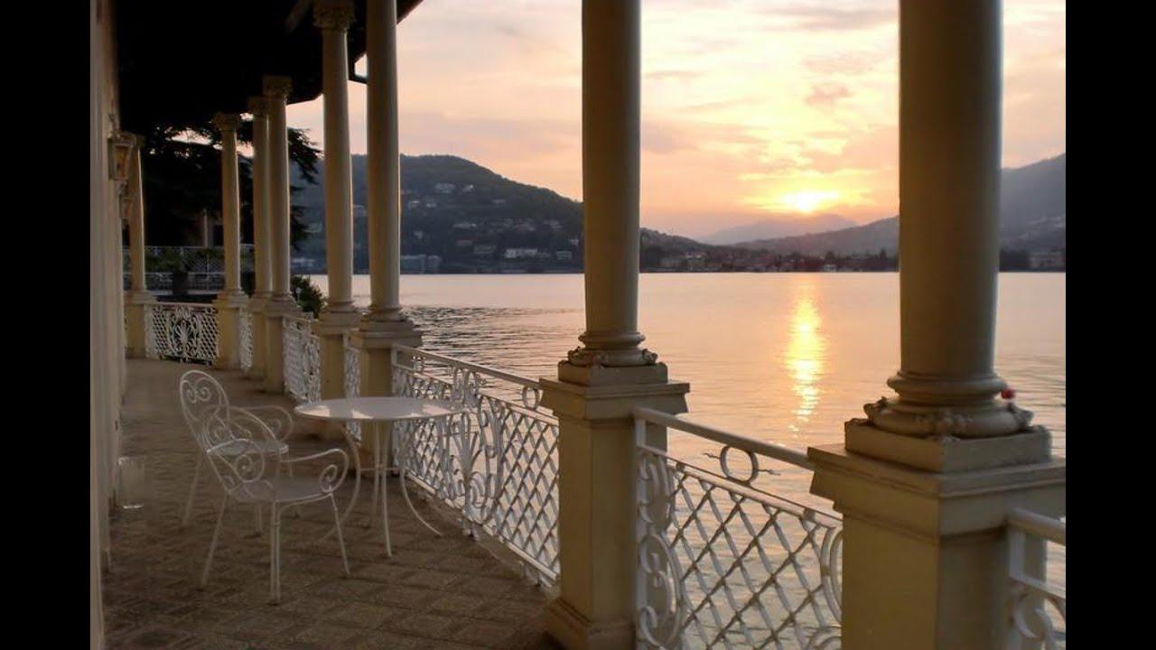 Waterfront Historic Villa For Sale Lake Como Lago Como Villa Storica Vendita A Lago Con Darsena