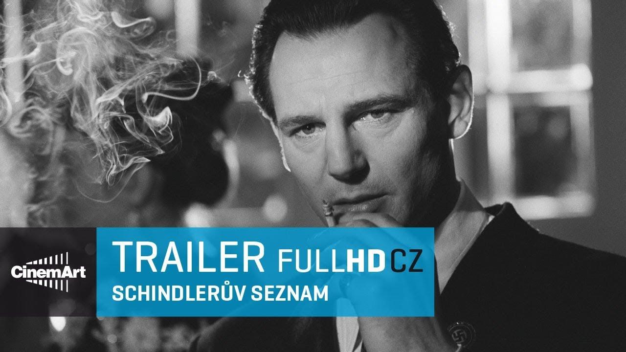 Schindlerův seznam / Schindler's list (1993) oficiální HD trailer [CZ TIT]