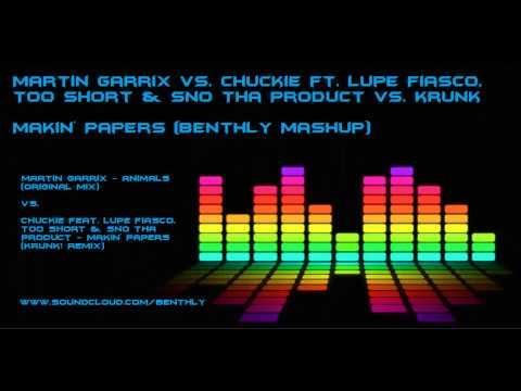 Martin Garrix vs. Chuckie ft. Lupe Fiasco, Too Short vs. Krunk - Makin' Animals (Benthly Mashup)