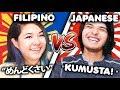 FILIPINO VS JAPANESE LANGUAGE CHALLENGE
