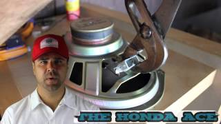 How to Replace rear Civic Speakers
