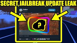 NEW Roblox Jailbreak WINTER UPDATE SECRET LEAKS!!!