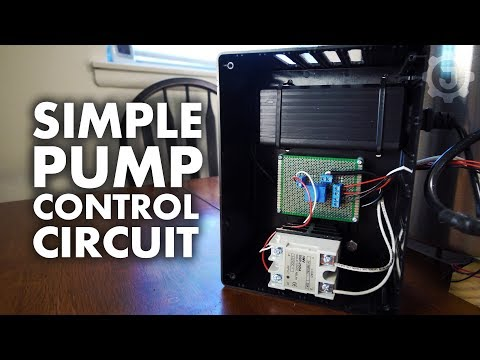 A Simple Pump Controller Circuit - YouTube on