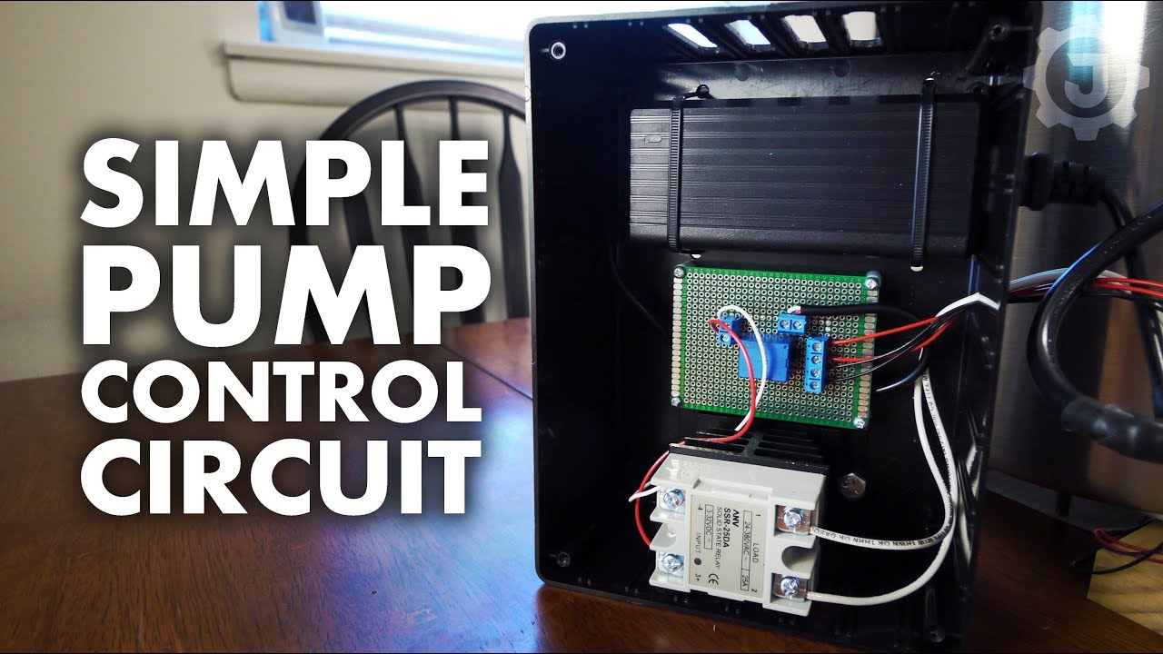 A Simple Pump Controller Circuit Youtube Solid State Relay