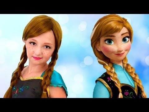 Princess Anna and Her Sister | Princesses Home Work Story | Super Elsa