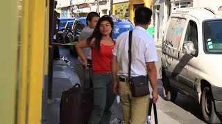 Chinese Street Fight in Paris HILARIOUS - Danh nhau