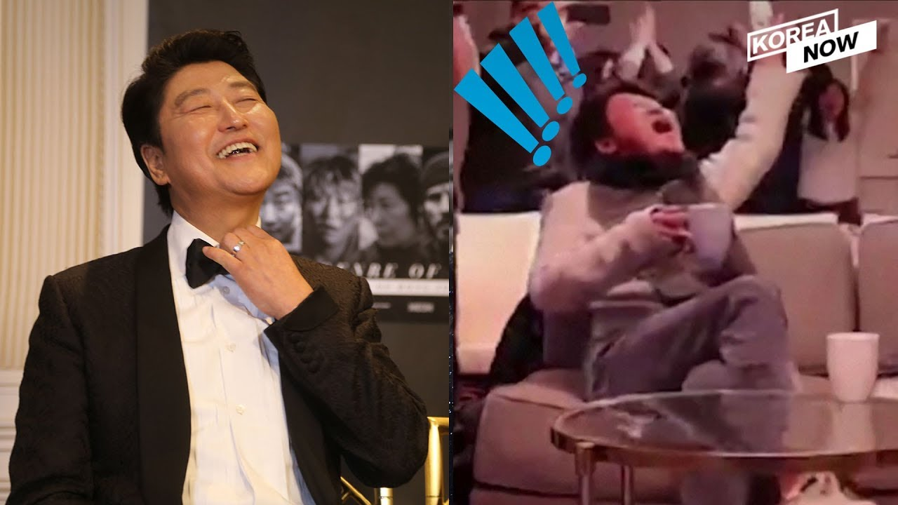 After Parasite Takes Home 6 Oscar Nominations Actor Song Kang Ho Reaction Video Goes Viral Youtube