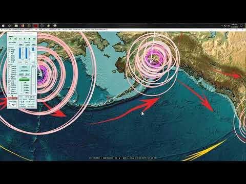12/22/2018 -- Tsunami and Volcanic blast in Sumatra Indonesia - Mt. Krakatau 55,000ft explosion