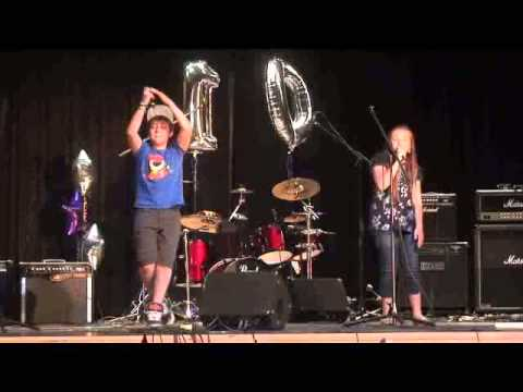 Jacob and Sophia Ewaniuk singing Opportunities at S.A.S.S. Canada