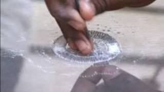 Indian Embroidery and Zari Work : Filling a Circle in Zari Indian Embroidery