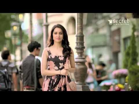Shraddha kapoor's secret temptation ad hd