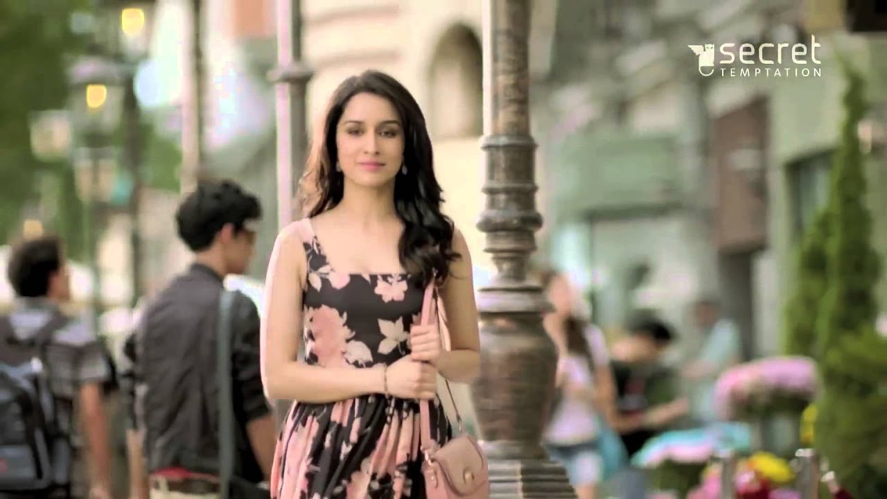 shraddha kapoor's secret temptation ad hd - youtube