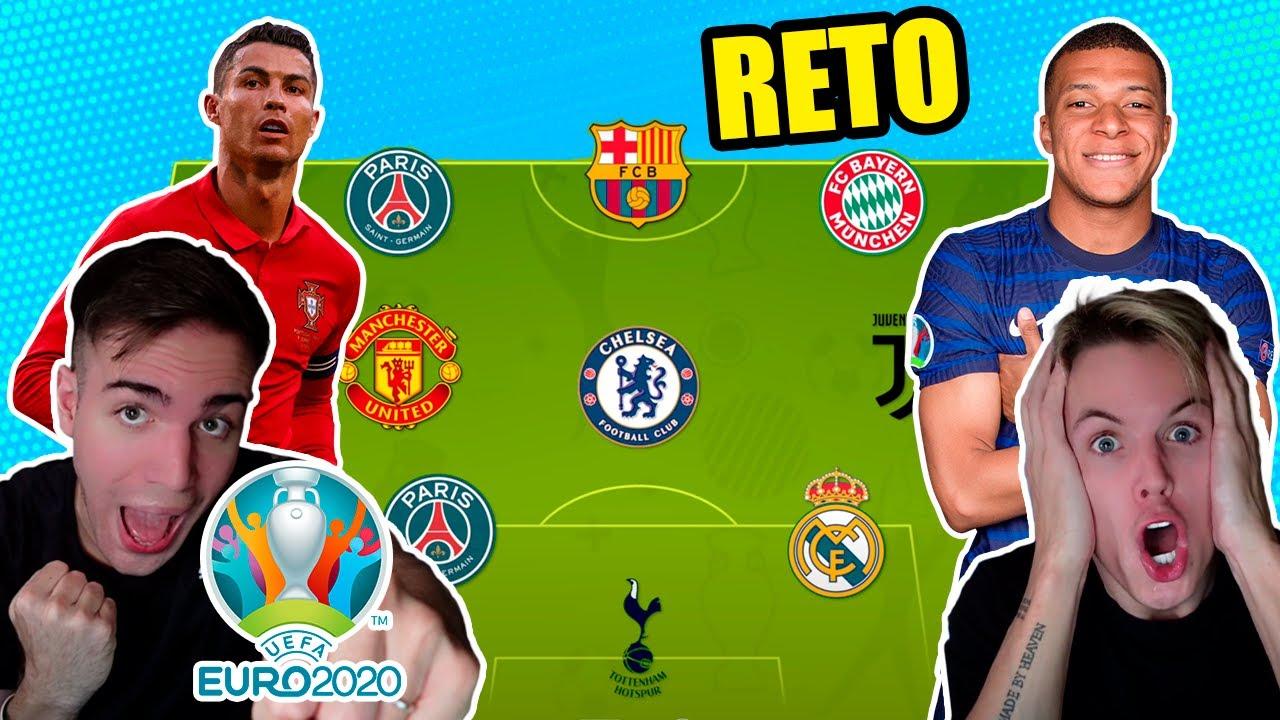 ADIVINA EL PAÍS POR EQUIPOS!! RETO Fútbol Eurocopa 2021