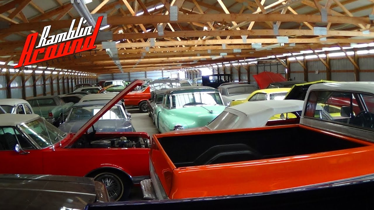 tour of country classic cars hot rods muscle cars and classics youtube. Black Bedroom Furniture Sets. Home Design Ideas