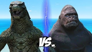 KING KONG VS GODZILLA - EPIC BATTLE