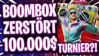 🏆📻😱ERSTES 100.000$ TURNIER MIT BOOMBOX! | Neues Item zestört Fortnite eSports?!