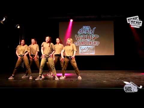 Nebula - German Hip Hop Dance Championship 2016 Süd/West Qualifier