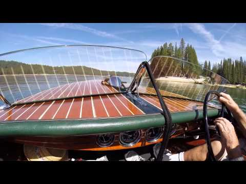 """Ride in a 1942 Chris Craft 17"""" Deluxe Runabout"""