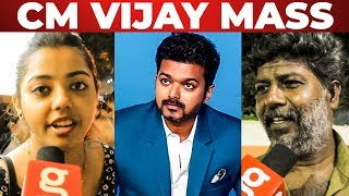 """Vijay Anna CM Maari Irukaru"" – Thalapathy Vijay 