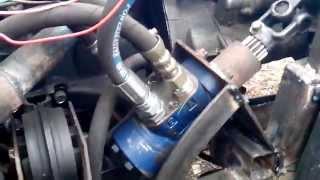 Работа гидрообъемного рулевого управления двигатель ВАЗ 2109