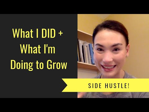Side Hustle Saturday - What I Did + Steps I'm Taking To Grow - Light In The Winter!