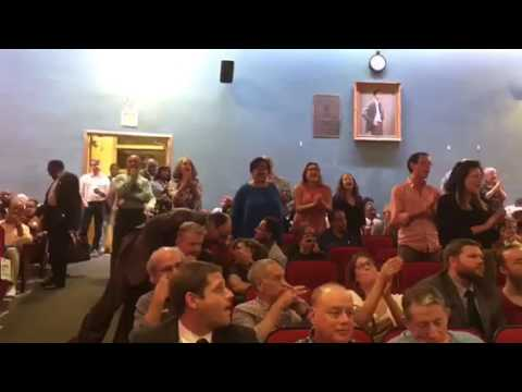 Uproar at Brooklyn Democratic Party meeting
