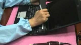 Видео по разборке ноутбука MSI EX600 EX601 MS-1636(, 2012-02-16T11:14:24.000Z)