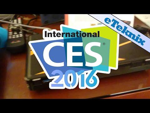 QNAP TBS-453A M.2 SSD NASbook @ CES 2016