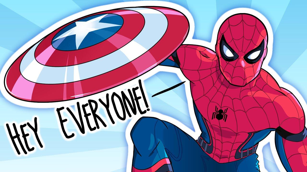 civil war spider man