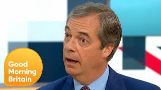 Nigel Farage Makes a Return to the Brexit Campaign | Good Morning Britain