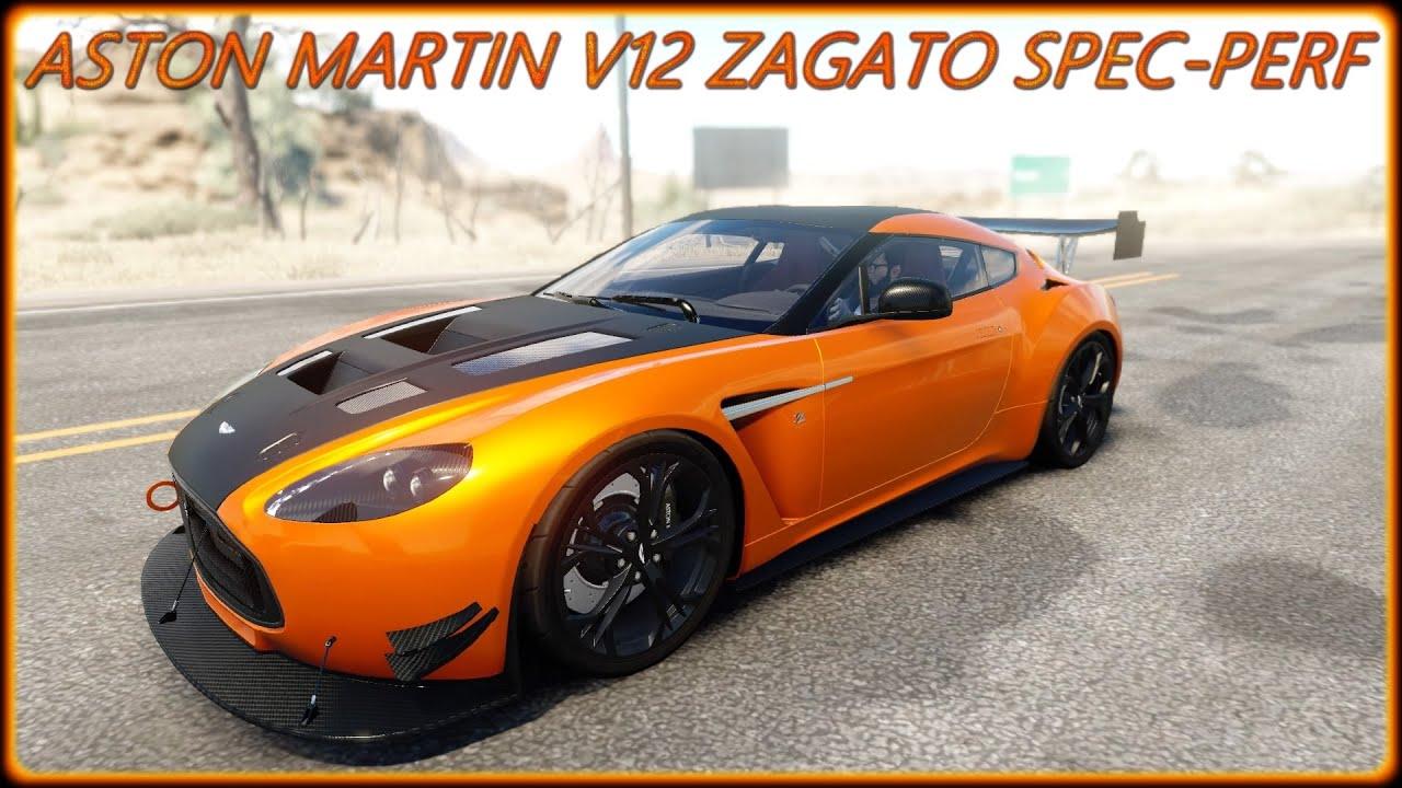 The Crew Wild Run Aston Martin V Zagato Spec Perf PS Gameplay By - Aston martin v12 zagato specs