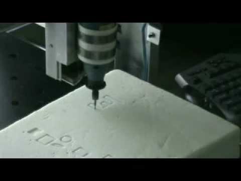 CNC machining using DXF files.wmv