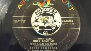 Steve Lawrence - (I Don