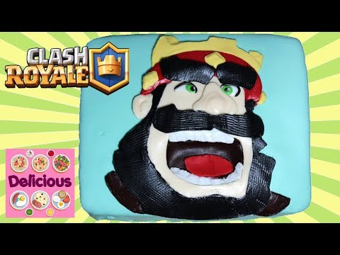 Clash Royale Cake Recipe - How To Make Clash Royale Cake Tutorial - Clash Of Clans Cake - Delicious
