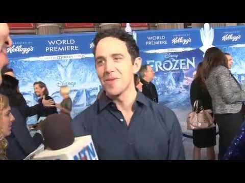 "Santino Fontana (Hans) at Disney's Frozen Premiere: ""This is nutsl!"""