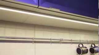 Светодиодные светильники для кухни. Освещение на кухне.(Заказать светодиодные светильники для кухни с монтажом на сайте http://ld-studio.pro Рассчитать интерьерное освеще..., 2013-09-26T18:28:55.000Z)